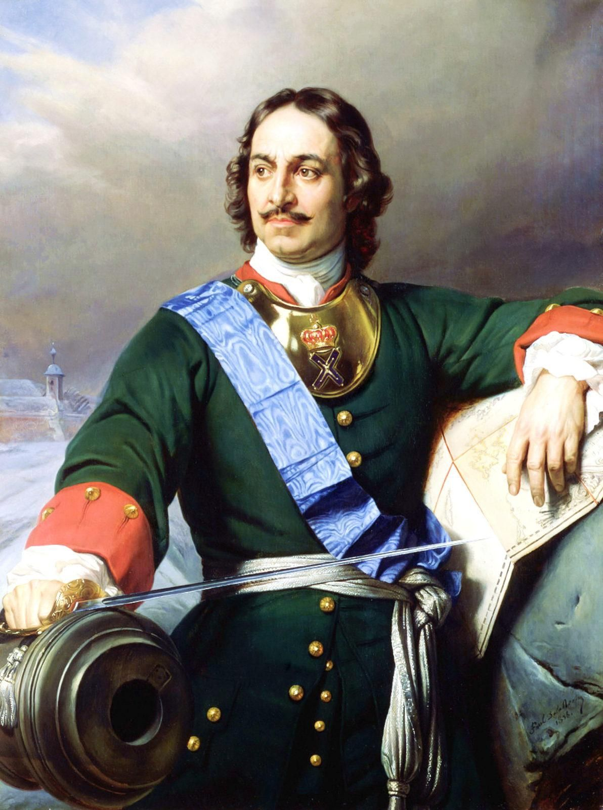 Царь Петр Первый, Петр Великий