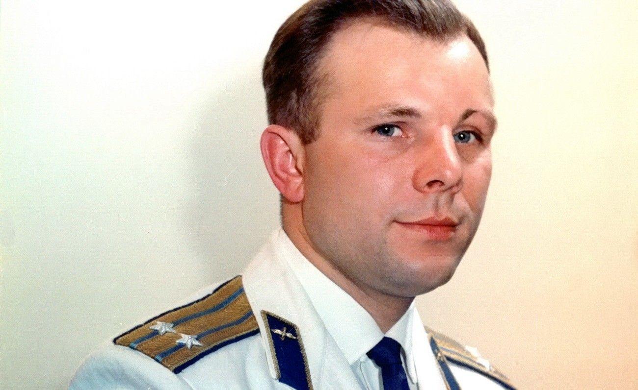 Первый космонавт Земли, советский космонавт Юрий Алексеевич Гагарин