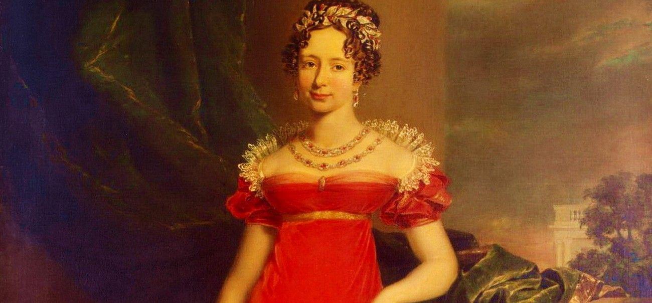 Мария Павловна (1786-1859) — великая герцогиня саксен-веймар-эйзенахская, дочь императора Павла I, в 1804 г. сочеталась браком с наследным принцем саксен-веймарским Карлом-Фридрихом (1783-1853), сыном Карла-Августа, вступившим на престол в 1828 году. Одаренная природным умом, а по словам Шиллера — и «большими способностями к живописи и музыке и действительной любовью к чтению», Мария Павловна в первые годы своего замужества во многом пополнила свое образование беседами с выдающимися людьми и уроками у профессоров Иенского университета. Когда муж её сделался великим герцогом, Мария Павловна приняла на себя покровительство наукам и искусствам, чем до некоторой степени вознаградила поэтов и художников Германии за утрату, понесенную ими в лице её знаменитого свекра. Она устраивала при дворе популярные лекции, обыкновенно сама избирая и тему чтения. Трудами М. Павловны создался музей, посвященный памяти Гёте, Шиллера, Виланда и других, прославивших Веймар своей литературной или художественной деятельностью...