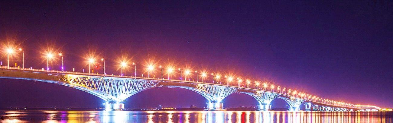 Saratow Engels Brücke