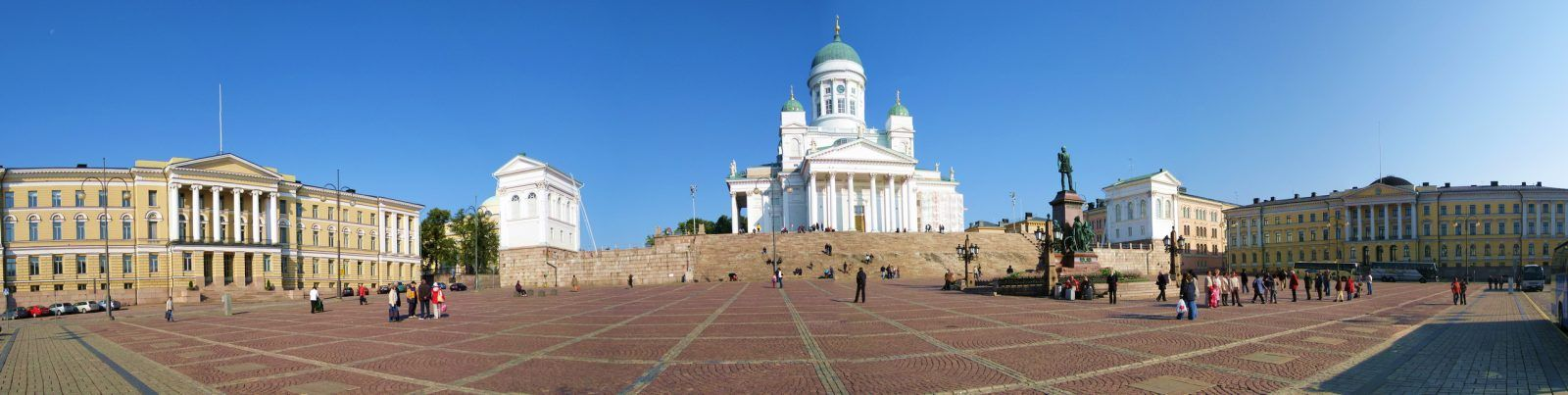 Хельсинки. Сенатская площадь.