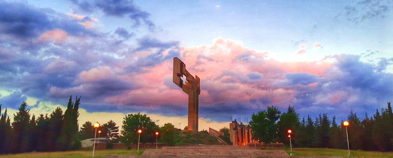 Мемориал в честь Самарского знамени в Стара Загора в Болгарии