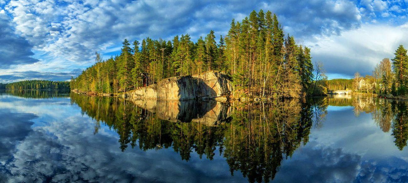 Кюменлааксо – один из живописных районов юго-восточной Финляндии, а жемчужиной его по праву считают Лангинкоски – там, где река Кюмийоки последний раз вспенивается на порогах, прежде чем влить свои воды в Балтийское море.