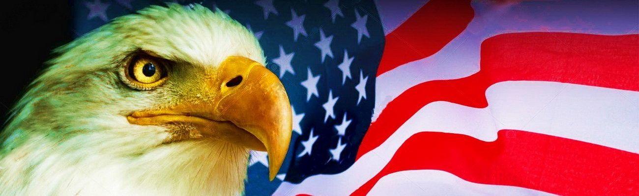 Американский символ патриотов США - это флаг США