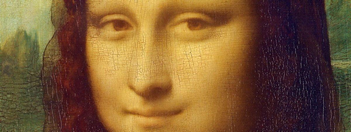 Леонардо да Винчи: Мона Лиза (фрагмент картины)