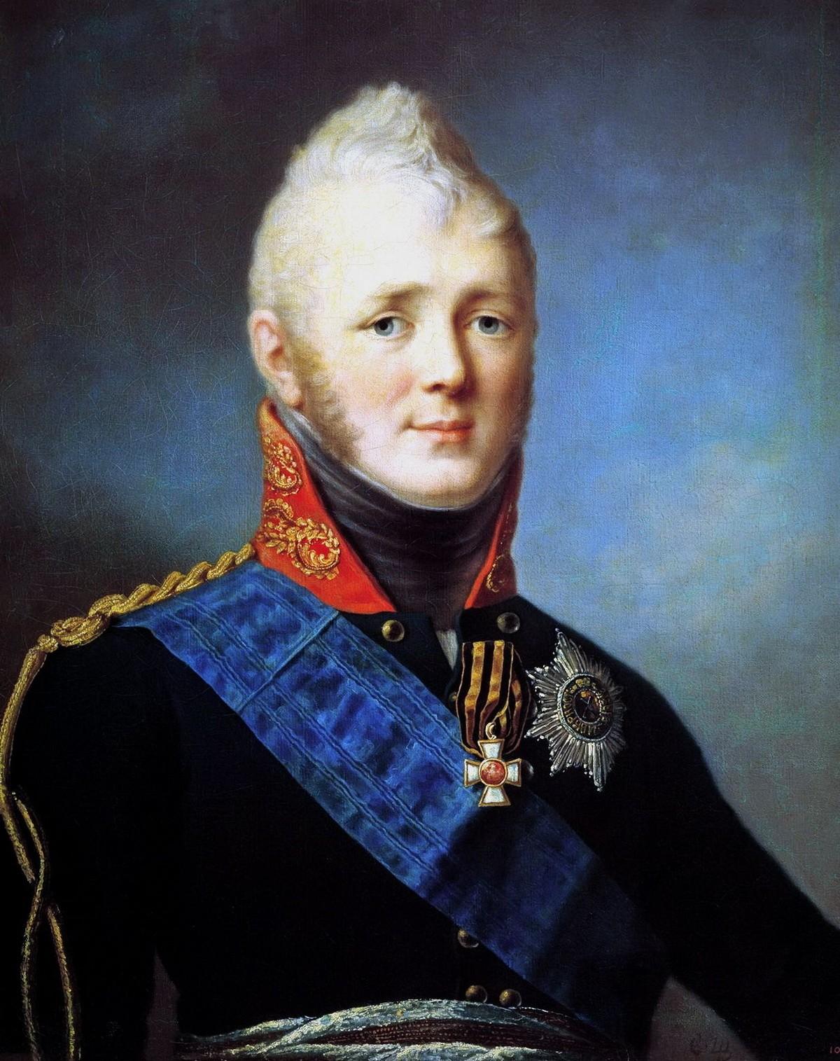 Император-победитель Александр Первый