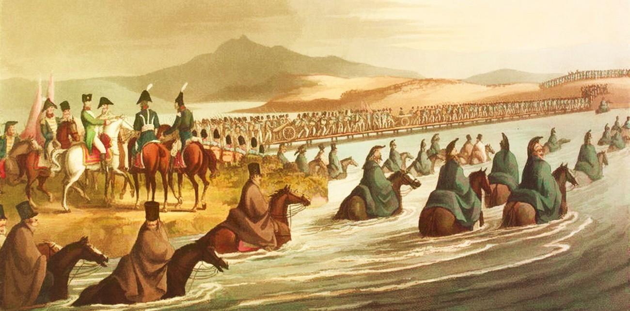 Переправа наполеоновских войск через Неман